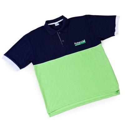 Potencial Brindes - Camisetas polo ou gola careca em diversos tecidos e cores.