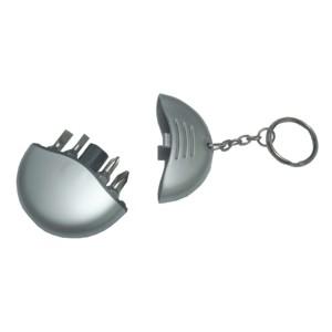 Potencial Brindes - Chaveiro personalizado com ferramentas no seu interior.