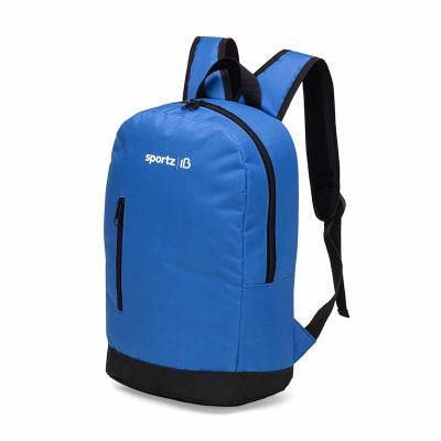 Potencial Brindes - Mochila em nylon com bolso frontal, com alca de mão, com acabamento interno e personalização em silk ou bordado Medidas 44 x 31 x 10 cm