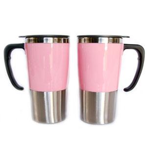 Mugmania - Mug térmico com capacidade para 350 ml, revestimento externo em acrílico.