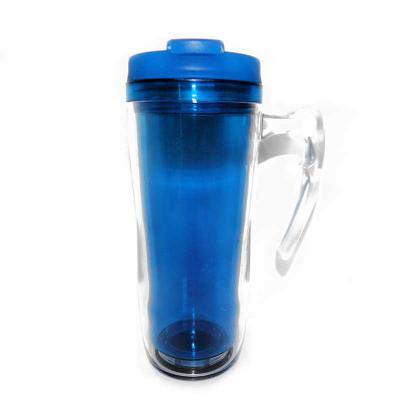 Mugmania - Mug com Alça Transparente interno Azul