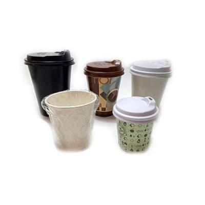 Elite Mais - Copo de papel biodegradável embalado individualmente