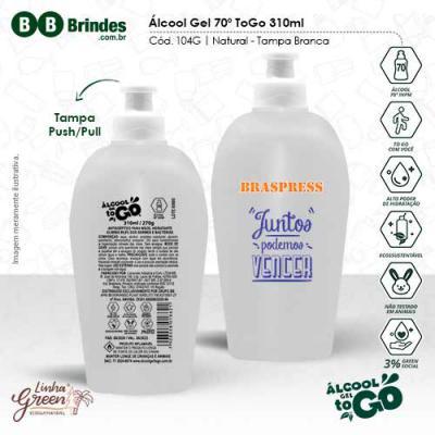 BB Grupo - Álcool Gel 70 ToGo 310ml