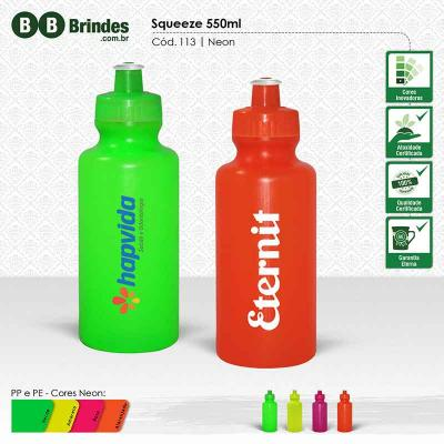 BB Grupo - Squeeze Neon 550ml