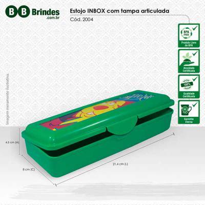 BB Grupo - Fabricado com matéria prima resistente, tampa articulada e fechamento por encaixe, este produto possui personalização em in mold label em cromia. Opçã...