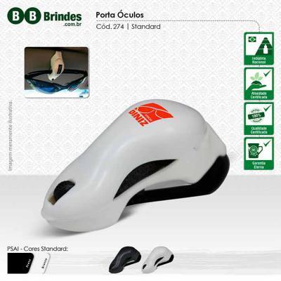 BB Grupo - Porta Óculos feito em plástico especial ABS para veículo, fixo no quebra-sol. Agora em novas cores!