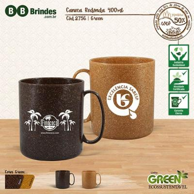 BB Grupo - Caneca redonda 400ml - Linha Green