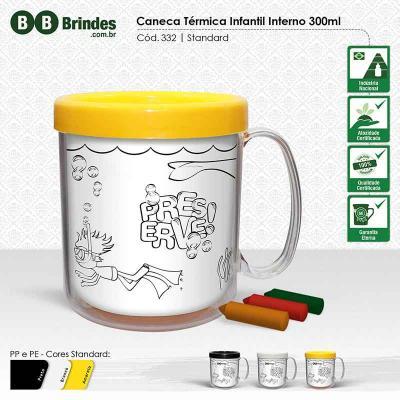 BB Grupo - Caneca Térmica Infantil