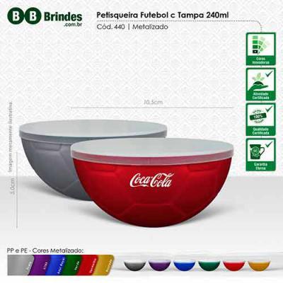 BB Grupo - Petisqueira Futebol metalizada com tampa