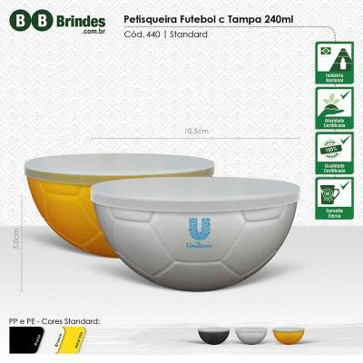 BB Grupo - Petisqueira futebol standard com tampa