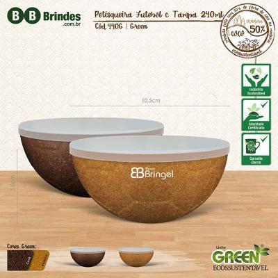 BB Grupo - Petisqueira futebol Green com tampa