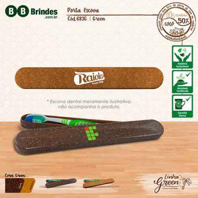 BB Grupo - Porta escova green coco