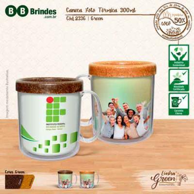 BB Grupo - Caneca foto térmica green
