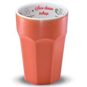 Oxford Gifts - Copo com receita de suco funcional, elimina o inchaço com capacidade para 300ml