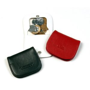 DiPort - Porta moedas personalizado em couro sintético com gravação da logomarca em baixo relevo.