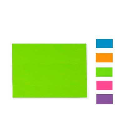 Vecelka Brindes - Bloco Adesivado Color Grande