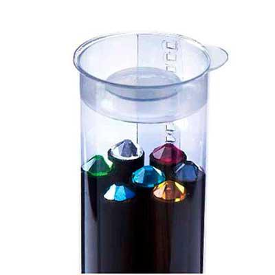 Vecelka Brindes - Kit tubo Lápis com Cristal Swarovski ® , acabamento especial em madeira preta e Cristais SWAROVSKI®, madeira 100% reflorestada. Opcional de 1 a 7 lápi...