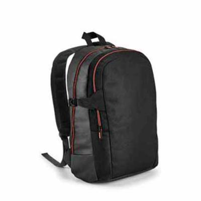 Vecelka Brindes - Mochila para notebook VK92677. 900D e c. sintético. Com 2 compartimentos. Compartimento posterior forrado, com divisória almofadada para notebook até...