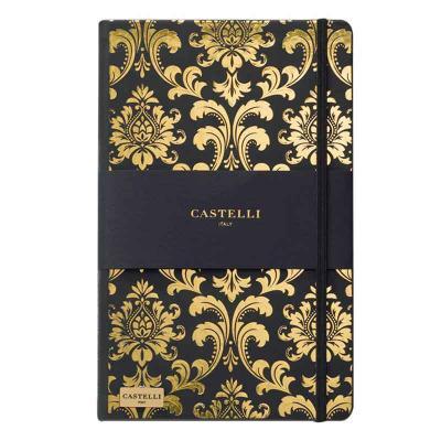Vecelka Brindes - Caderno Linha Castelli Gold