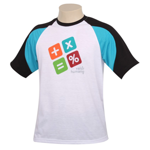 Vecelka Brindes - Camiseta com gola redonda.