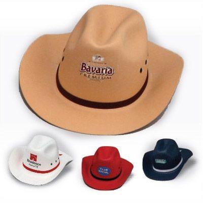 f6c8b53bcc601 Vecelka Brindes - Chapéu de EVA Cowboy
