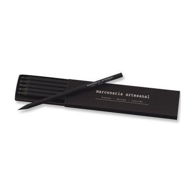 Vecelka Brindes - Kit lápis Faber Castel personalizado.