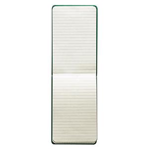 Vecelka Brindes - Ivory Notes tipo Moleskines,  modelo Q35, formato interno 9x14cm, 192 páginas em papel marfim FSC Off Set 80G