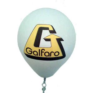 MPB Brindes - Balão em látex, tamanho 9 polegadas com impressão personalizada em duas cores.