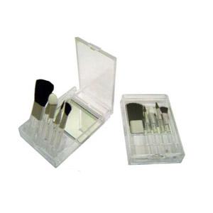 MPB Brindes - Jogo de pinceis com 5 peças para uma maquiagem muito mais eficaz.
