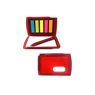 AGP Brindes - Bloco de anotações com stick-notes e minicaneta