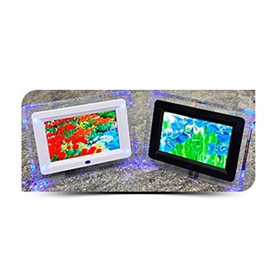 AGP Brindes - Porta retrato digital personalizado de mesa, confeccionado em diversas cores