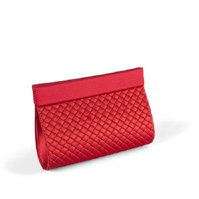 JOMO - Bolsa carteira Tricê com revestimento externo e interno em tecido poliéster. Cores: Consultar cores disponíveis Tamanho: 180  x 140  x 80 mm