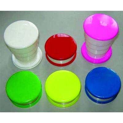 Estilo Brindes - Copo sanfona em material plastico.