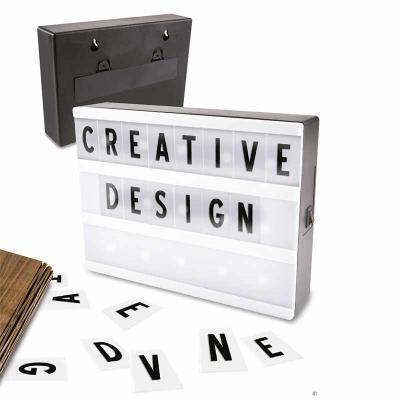 Creative Design - Letreiro de cinema A5