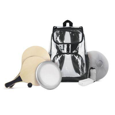 Creative Design - Mochila em PVC com acessórios esportivos