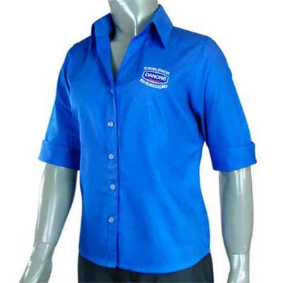 Ledmark Produtos Promocionais - Camisa Social Feminina