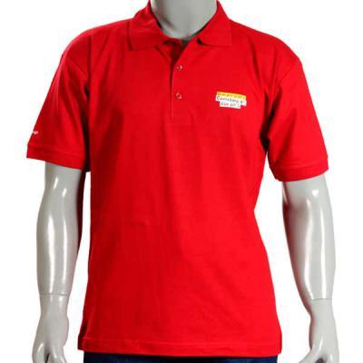 Ledmark Produtos Promocionais - Camisa Pólo em Malha de Algodão