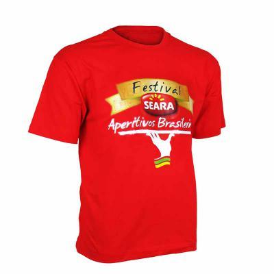 Ledmark Produtos Promocionais - Camiseta com Transfer
