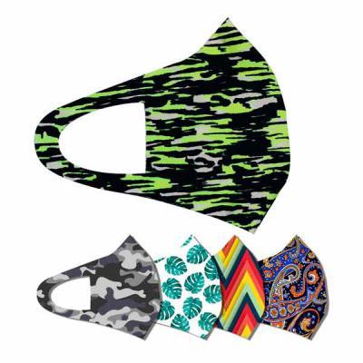 Ledmark Produtos Promocionais - Máscara Lavável CA02  Tecido: Suplex. Mais elasticidade e conforto  Arte em Sublimação total. Mais possibilidades para a criação de arte/designAplicad...