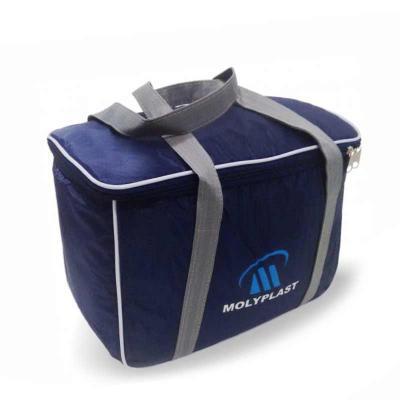 Absoluty Brindes - Bolsa térmica fabricada em nylon 70 com pvc laminado interno.MEDIDA 34X24X16