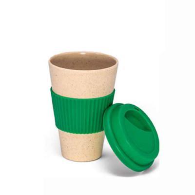 Absoluty Brindes - Copo para viagem Fibra de bambu