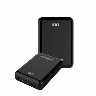 absoluty-brindes - Carregador portátil mini  • Visor digital em LED  •2 Saídas USB ESPECIFICAÇÕES:  • 15000mAh  • Entrada: DC5C – 2.1A Micro USB  • Saídas: DC5V – 2.4A U...