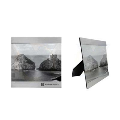 Absoluty Brindes - Porta retrato de metal com vidro