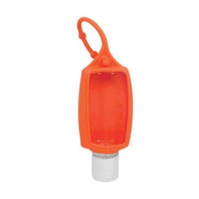 Absoluty Brindes - Frasco para alcool em gel com chaveiro