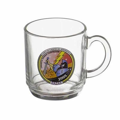 D.Kore Porcelanas - Caneca Aspen de vidro 300ml - DK3248