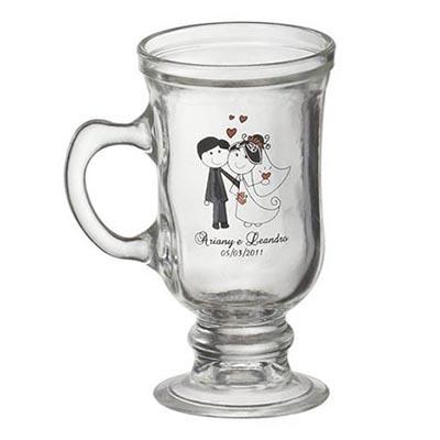 D.Kore Porcelanas - Caneca Personalizada Irish Coffee - 120 ml.