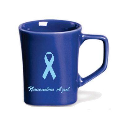 d-kore-porcelanas - Caneca 380ml Azul