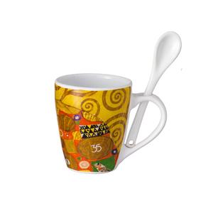 d-kore-porcelanas - Caneca com colher