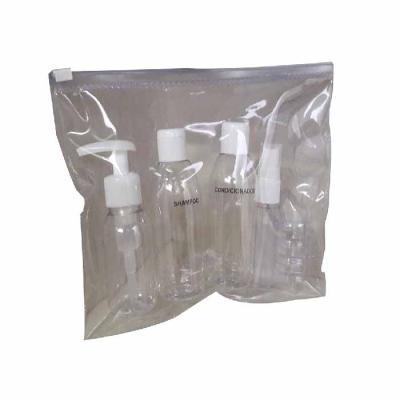 For Import - Kit viagem 5 frascos e estojo