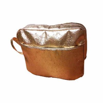 For Import - Necessaire bolsa dourada G